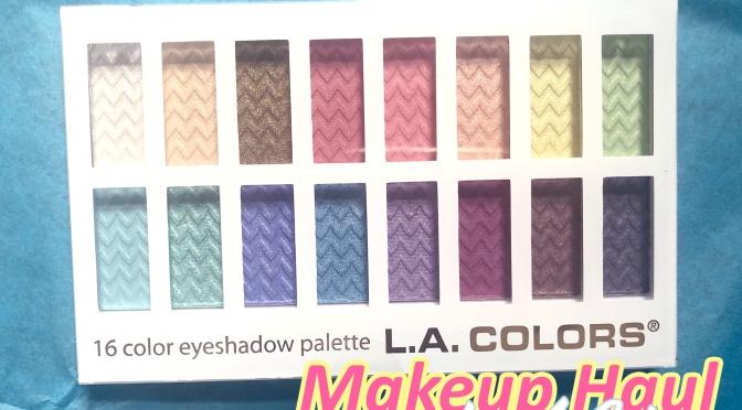 ✩#48 – L.A. Colors Makeup Haul✩